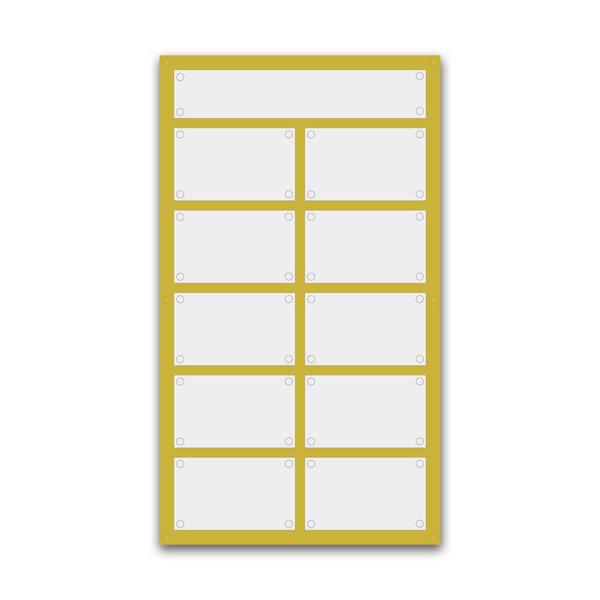 Support pour 2 plaques de 30x20 cm