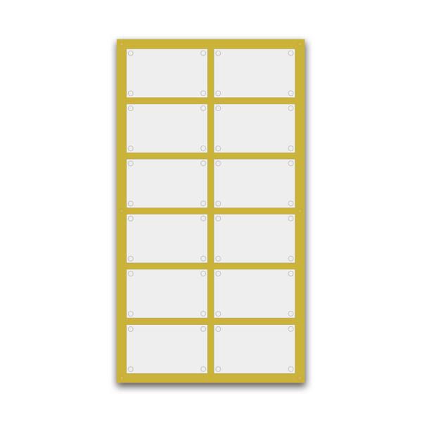 Support pour 6 plaques de 30x20 cm
