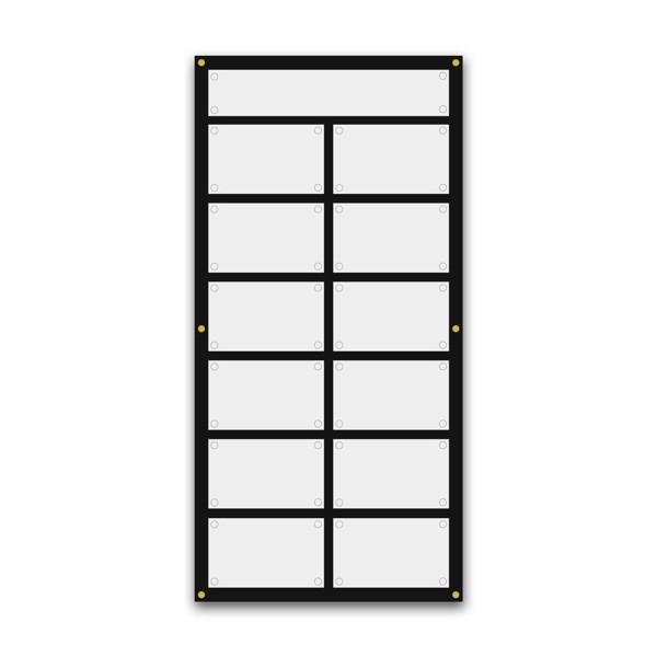 Support pour 8 plaques de 30x20 cm