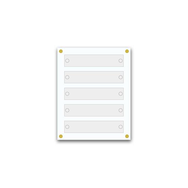 Support pour 10 plaques de 25x15 cm