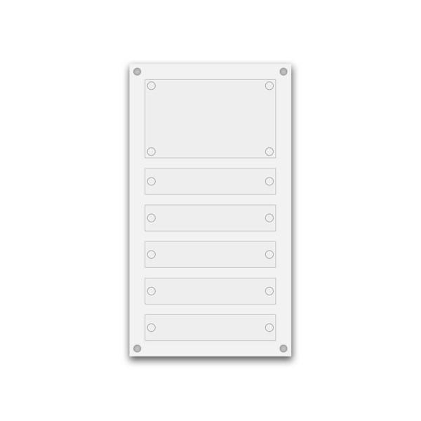 Support pour 12 plaques de 25x15 cm
