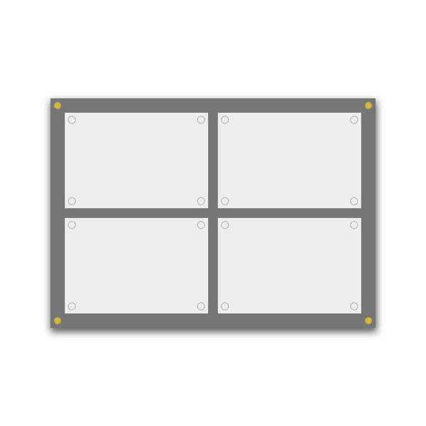 Plaque de plexiglas - impression quadri