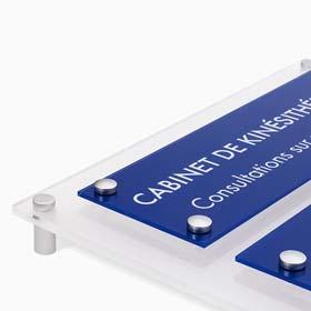 Multi-plaques professionnelles, tableaux et supports multi-plaques