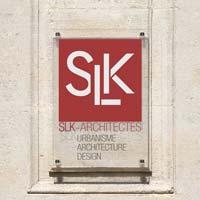 Plaque architecte - Impression sur plaque plexiglas en couleur, fond transparent