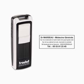 Tampon de poche personnalisé Trodat Mobile Printy 9413 - Tampon de poche 5 lignes
