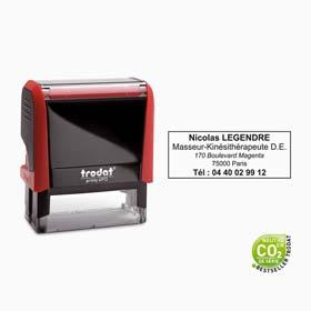 Tampon encreur personnalisé Trodat Printy 4913- Tampon 5 lignes